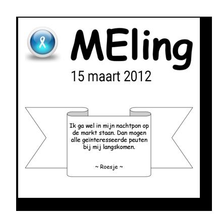 meling 15 maart 2012