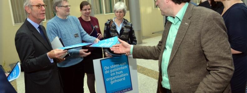 Petitie PatiëntenPerspectief2021 vindt gehoor